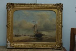 Damaged frame