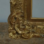 Gilding of new moulding