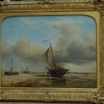 Final conserved painting and frame